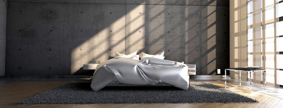 מיטות מתכווננות בחדר השינה