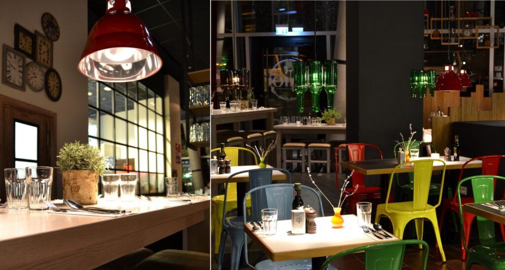 עיצוב מסעדה בסגנון תעשייתי