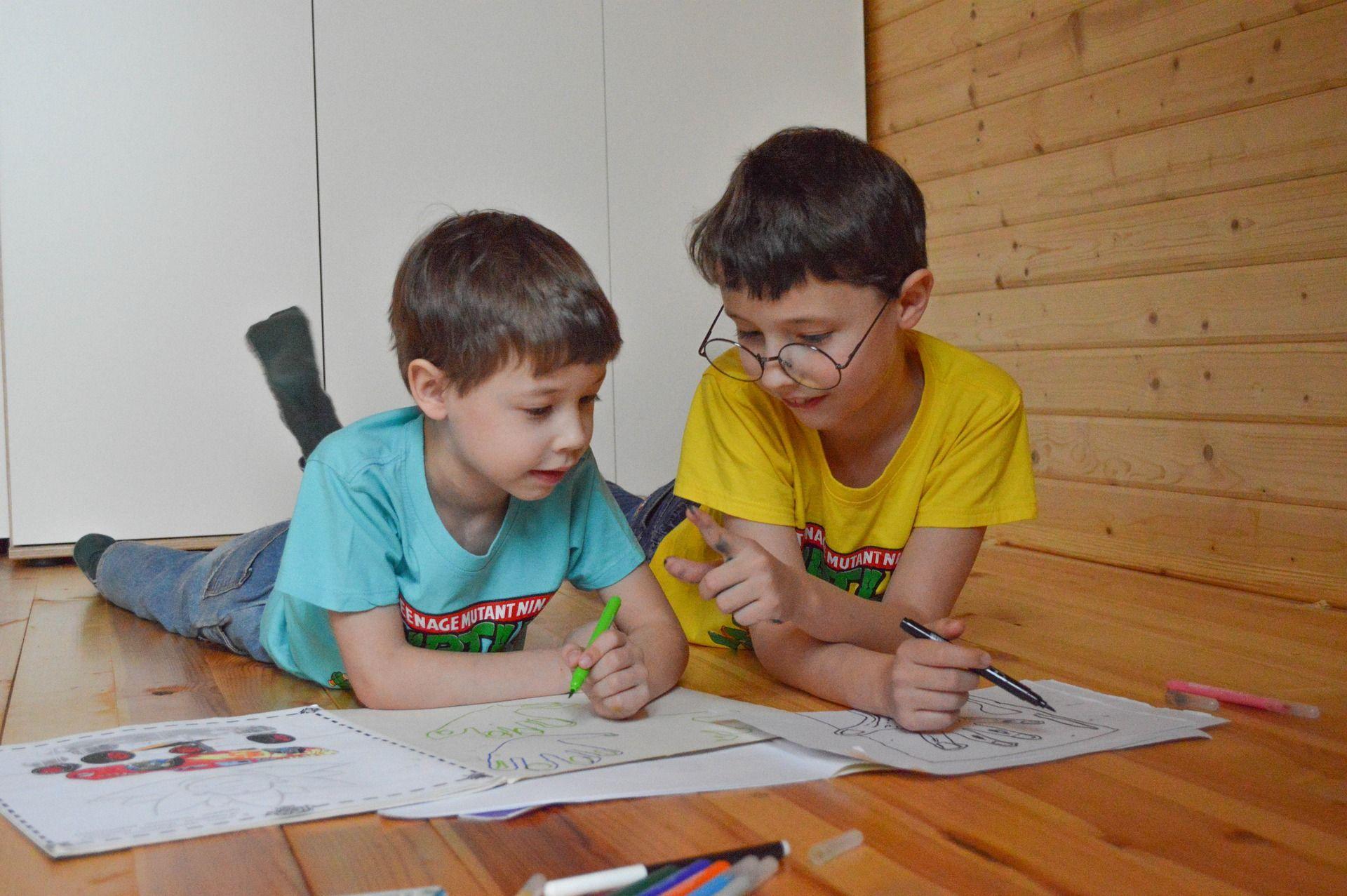 אזור עבודה לילדים