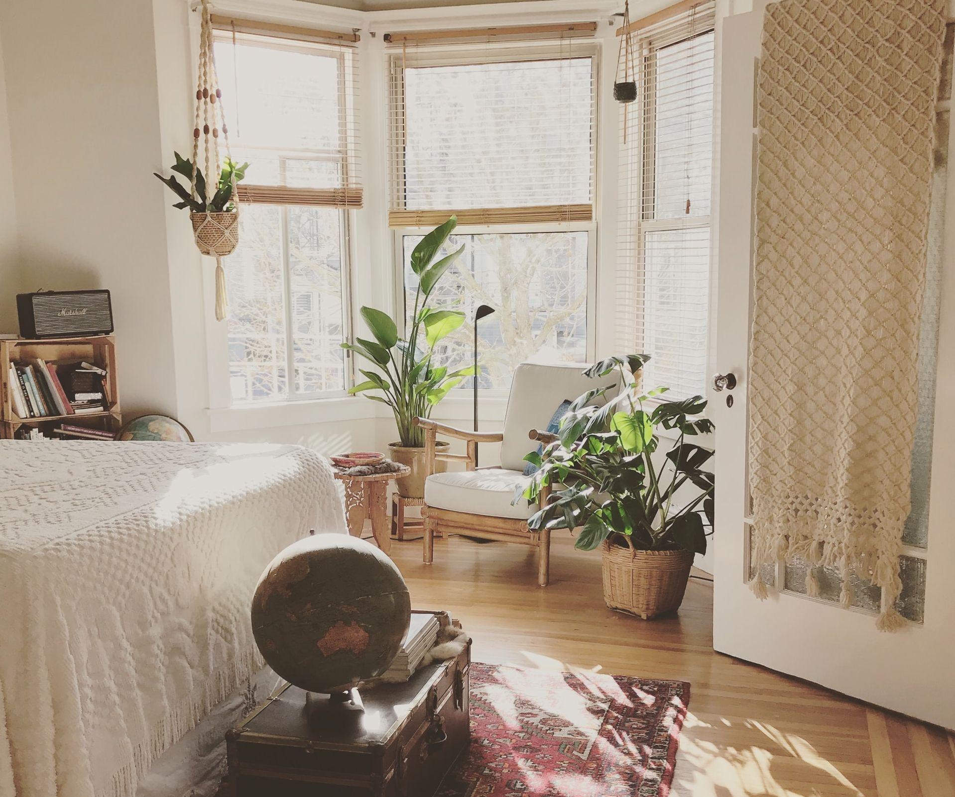 חדר שינה בסגנון בוהו