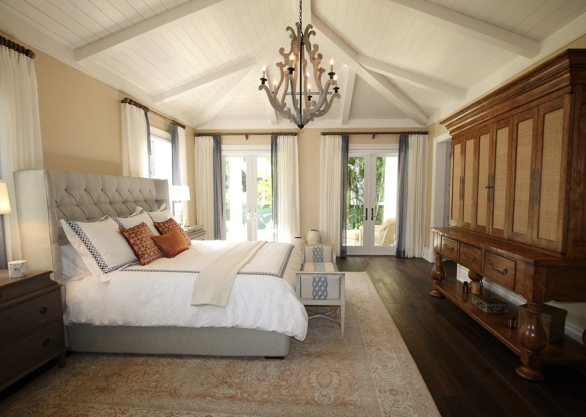 חדר שינה בסגנון קלאסי